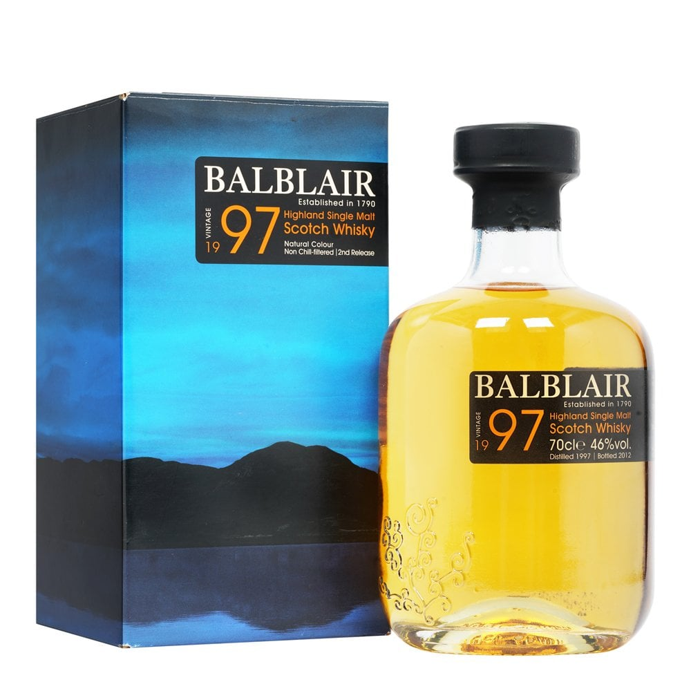 Balblair 1997 - 2nd Release - Damaged Box