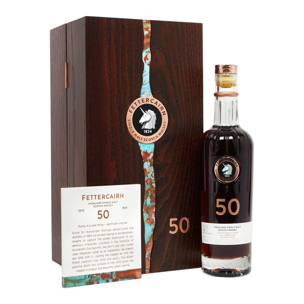 50 Year Old Whiskey >> Fettercairn 50 Year Old