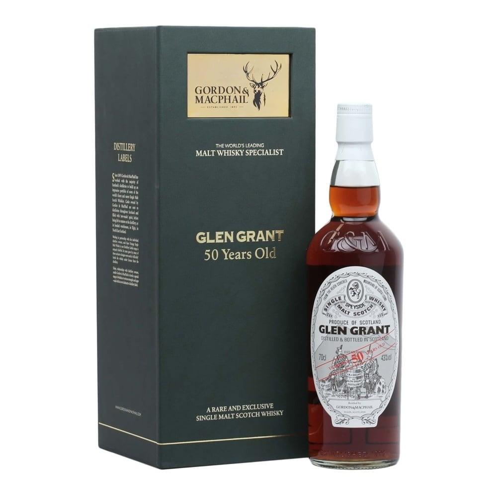 50 Year Old Whiskey >> Glen Grant 50 Year Old Gordon Macphail