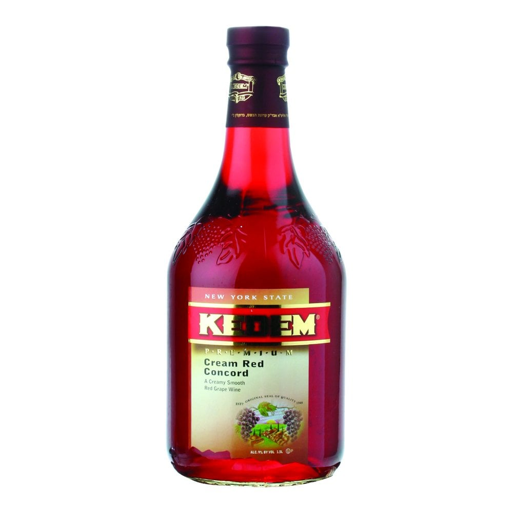 Kedem Cream Red Concord 1 500ml Wine Grape Juice Champagne From The Grapevine Uk
