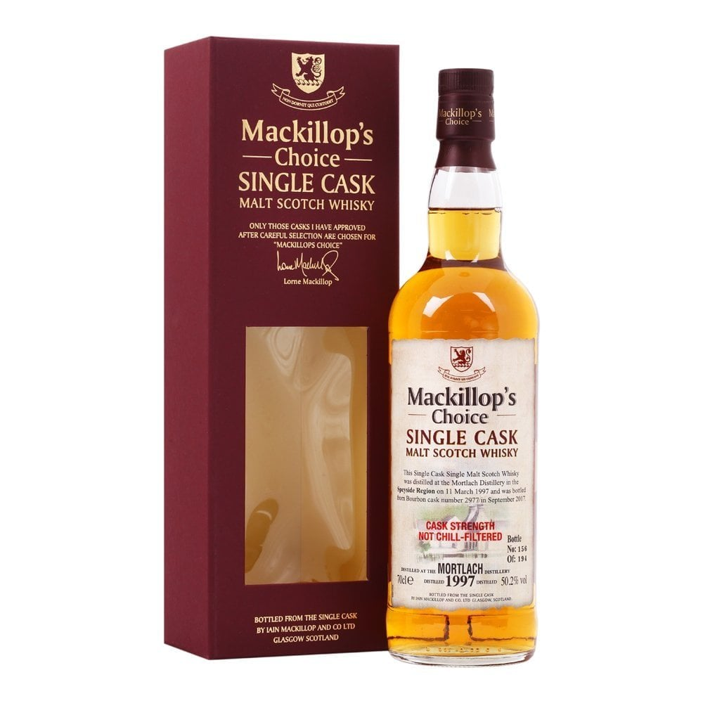 Mortlach 1997 - 20 Year Old - Cask 2977 - Mackillop's Choice